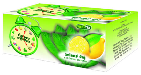 Budiky - green tea with lemon
