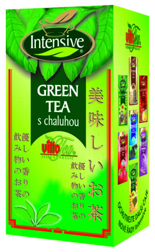 Green tea with seaweed
