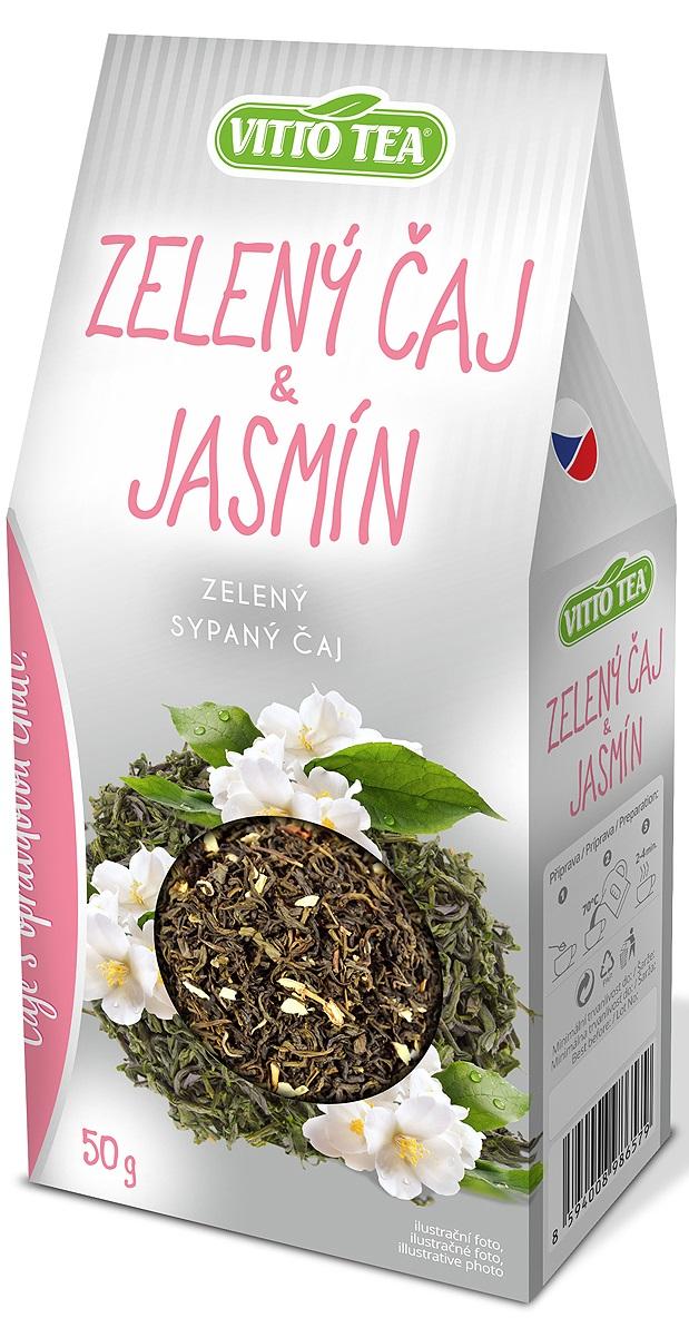 Green tea & jasmine