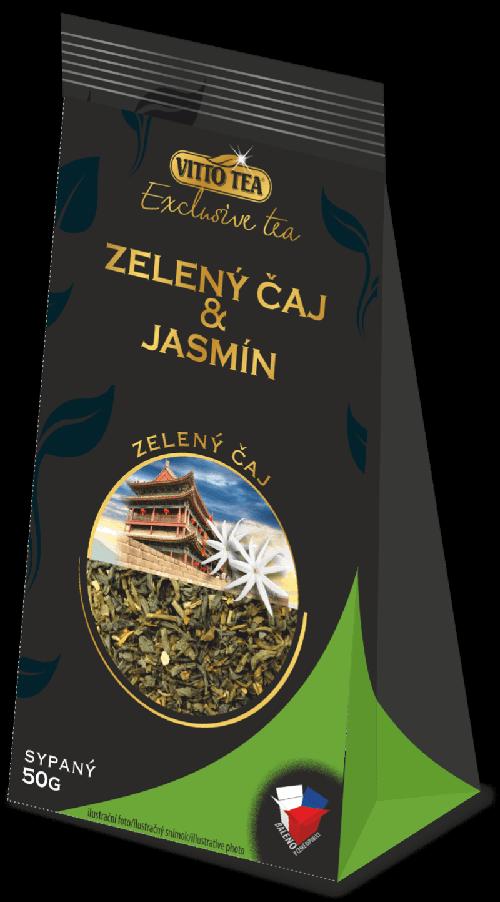 Zelený čaj & jasmín