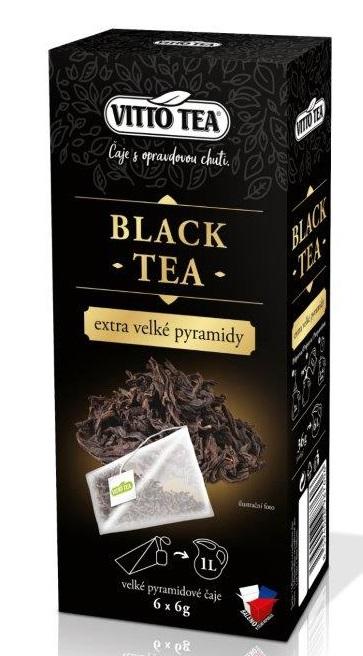 EXTRA VELKÉ PYRAMIDY BLACK TEA