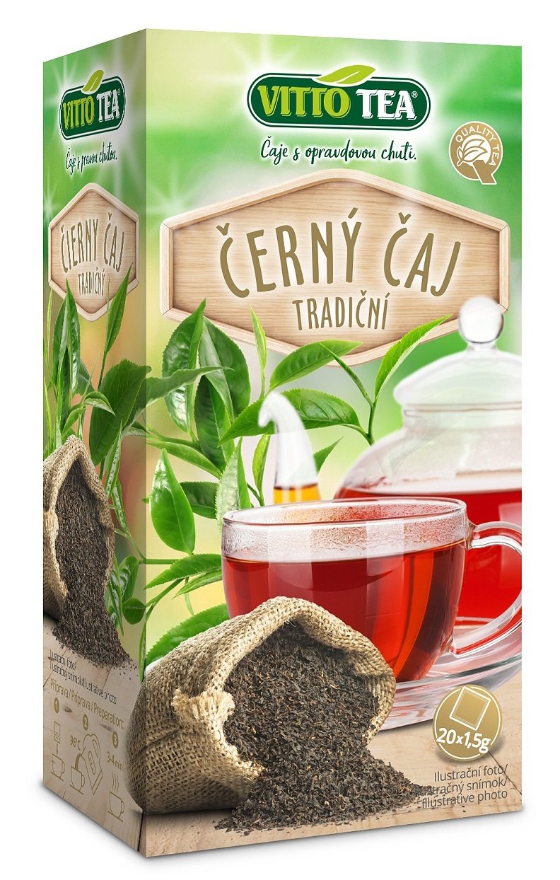 Tradiční černý čaj